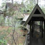 Cabin 6, rustic and romantic