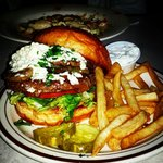 The Gyro Burger!  Amazing!