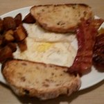 Two egg breakfast at the Armview Restaurant
