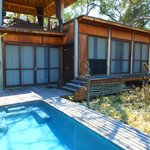 Roof top lounge/outdoor shower/plunge pool