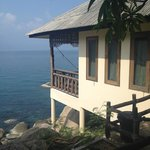 View of our bungalow