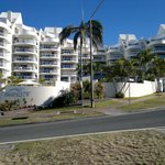 Osprey Apartments viewed from Mooloolaba Esplanade