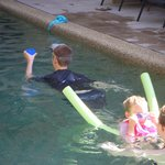 swimming lessons from big sister
