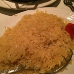 Yellow rice..