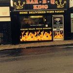 Bar b q king Kirkcaldy's no1 place for burger
