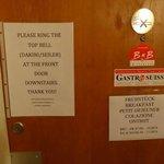 オーナーさんの部屋の入口