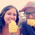 Enjoy pineapple from Mekong :)