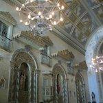 Lindo interior da Igreja.