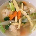 Dumpling soup. YUM.