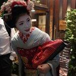 Geisha sighting