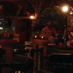 Resturant area, with live south indian music