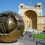 The bronze sphere