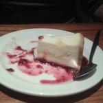 Lemon cheesecake in Brewers Fayre