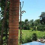 il giardino dal portico