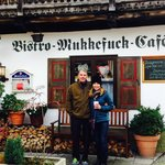 Perfect non-touristy fun and delicious lunch spot in Garmisch. Thanks for taking the photo Jake!