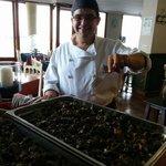 Antonio Ostos. Gran cocinero !!!