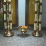 Decoration at Reception