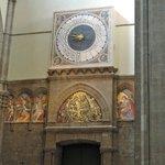 Duomo Cathedral - huge interior clock
