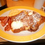 Bacon e french toast