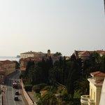 desde el balcón a la derecha