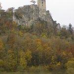 Wiesenttal, Neideck vom Osten im Herbst