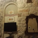 room. love the old furniture and stone walls
