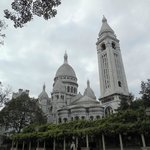 Sacre Coeur from the rear side