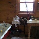 Bathroom in Black Bear suite