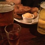 Beers and pretzels - can't go wrong!