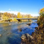 Animas River (behind hotel)