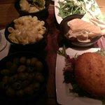 Vegetarian sharing plate