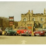When the Jaguar Club came to stay.