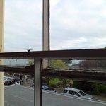 Bedroom window frame