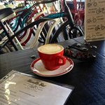 coffee and menu