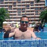Disfrutando el sol en Hotel Friendly :)