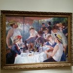 Luncheon of the Boating Party - Pierre - Auguste Renoir