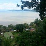 La vue de la terrasse commune !
