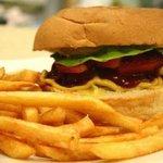 the famous Da Franko hamburger
