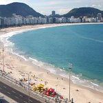 View of Copacabana from our terrace