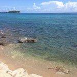 foto de la vista al mar