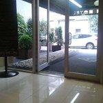 Entrada del hotel.