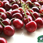 fresh local cherries