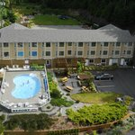 Arial view of the resort