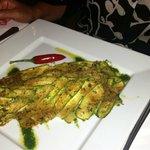 Fish with zuccini