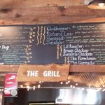 Grazing here menu...a fair variety of choices with lots of options at a reasonable price.