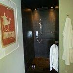 walk in wet room/ shower