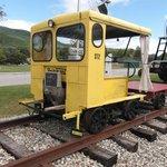 Track Maintenance car