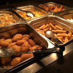 Food servery area