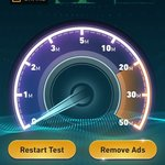Slow but tolerable internet.   Try a different access point as some are much faster