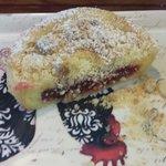 Delicious Raspberry pie , love it